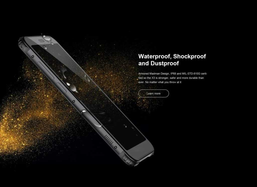 AGM X3 Rugged smartPhone- Ram and Rom (6GB+64GB),4G LTE,Display 5.99 inch,2.8GHz CPU, Shock,Dust and water proof