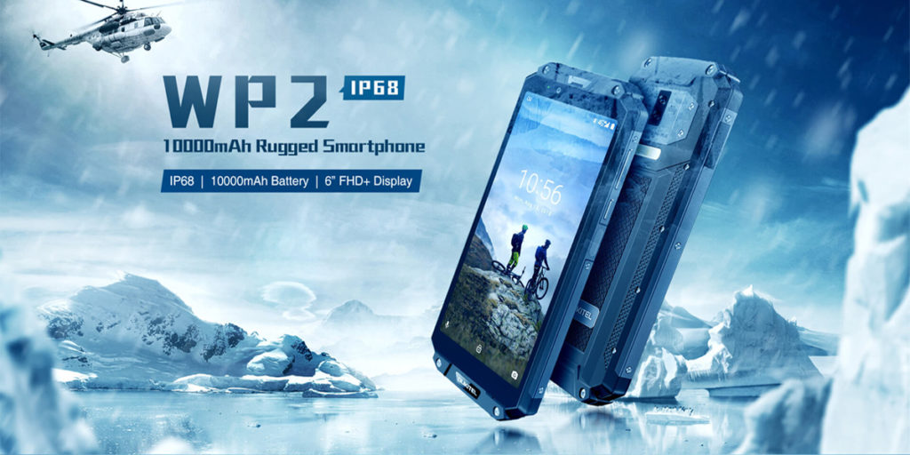 Oukitel WP2 rugged smartphone