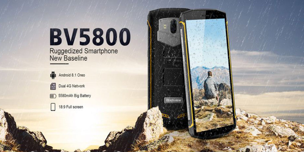 Blackview BV5800 Pro rugged smartphone