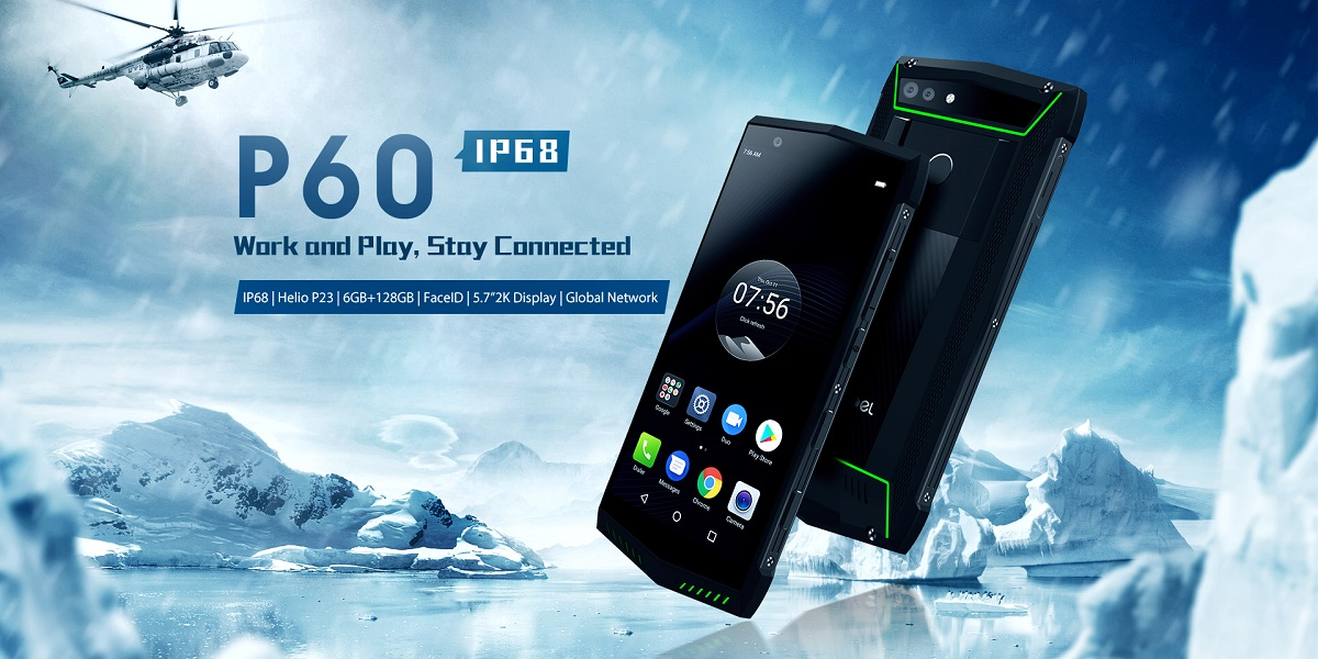 Poptel P60 rugged smartphone