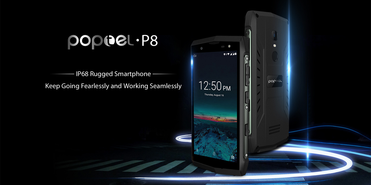 POPTEL P8 rugged smartphone review